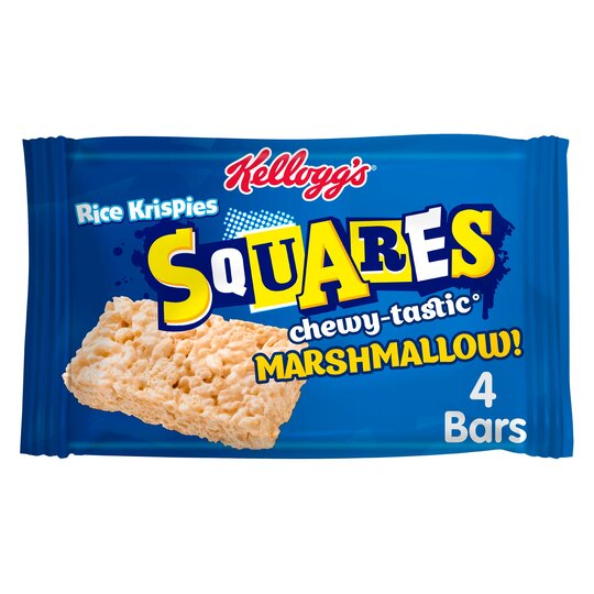 Kellogg's Rice Krispie Squares Marshmallow 4 X 28G