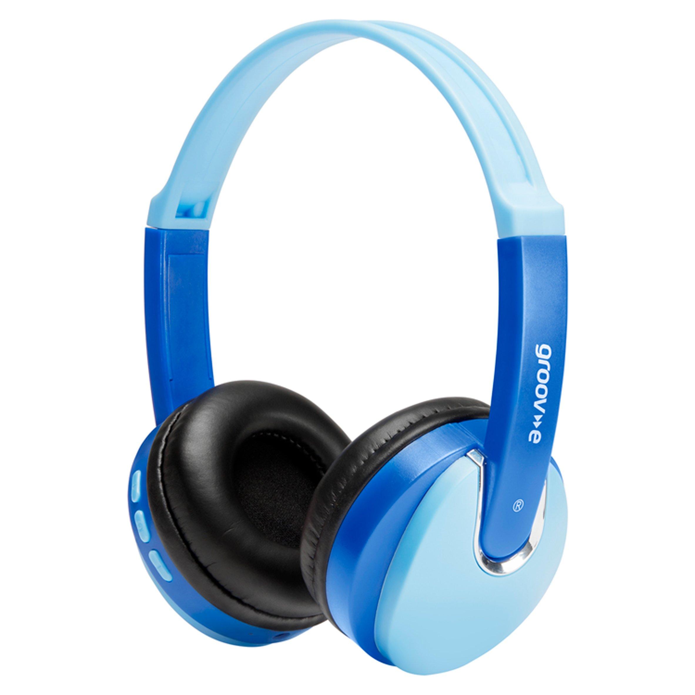 Groov-E Kidz Bluetooth Headphones Blue