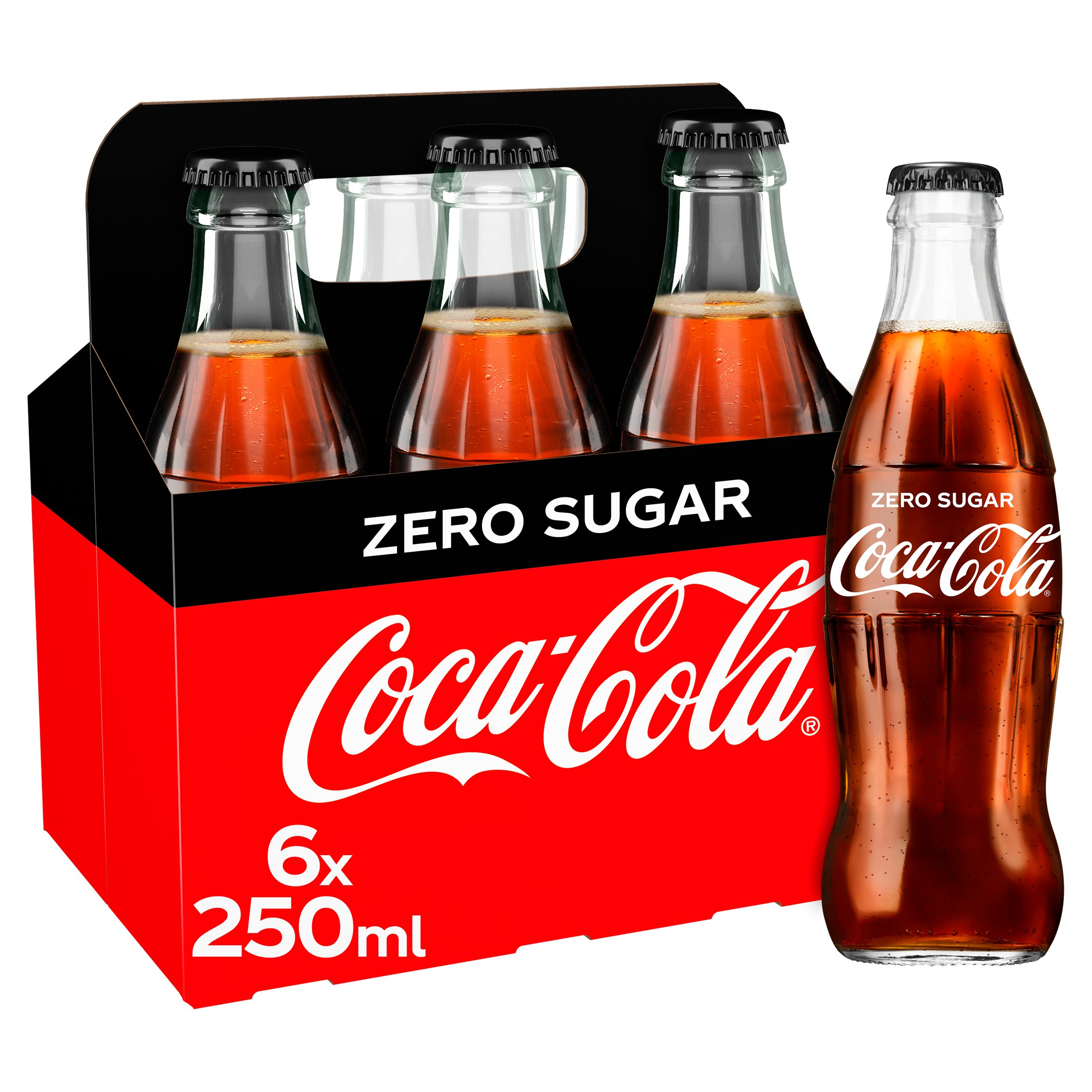 Coca-Cola Zero 6X250ml