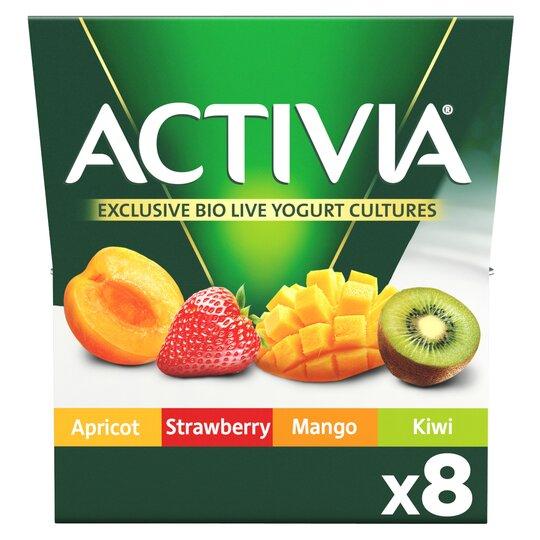 Danone Activia Mixed Fruit Yoghurt