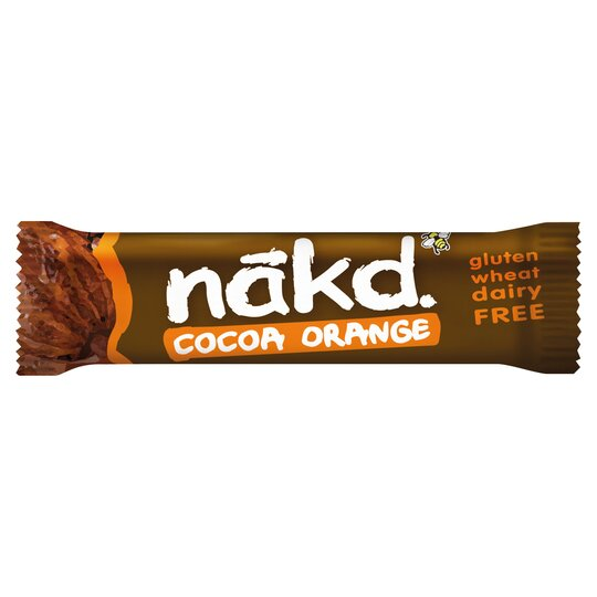 Nakd Cocoa Orange Gluten Free Bar 35G