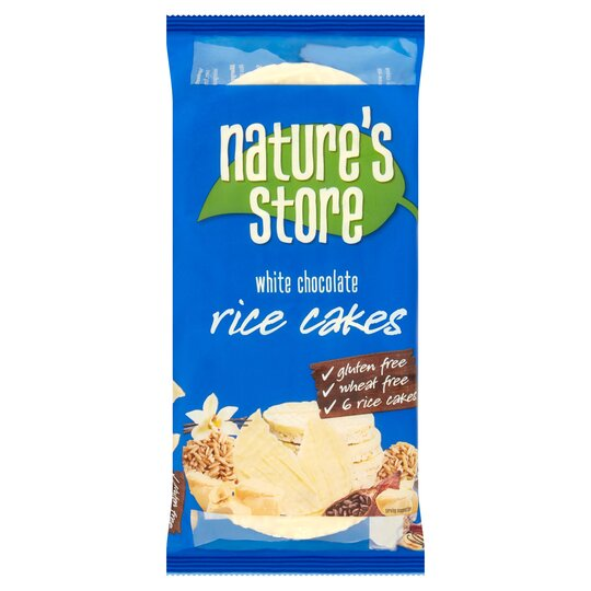 Natures Store Free From White Chocolate Rice Cakes 100G