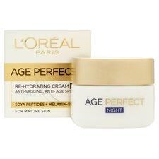 image 3 of L'oreal Paris Age Perfect Rehydrating Night Cream 50Ml