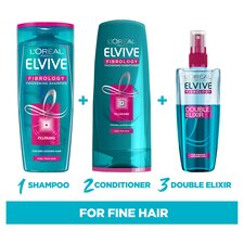 image 2 of L'oreal Elvive Fibrology Fine Hair Conditioner 300Ml