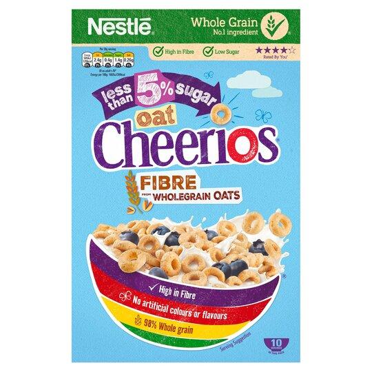 Nestle Oat Cheerios Low Sugar 325G