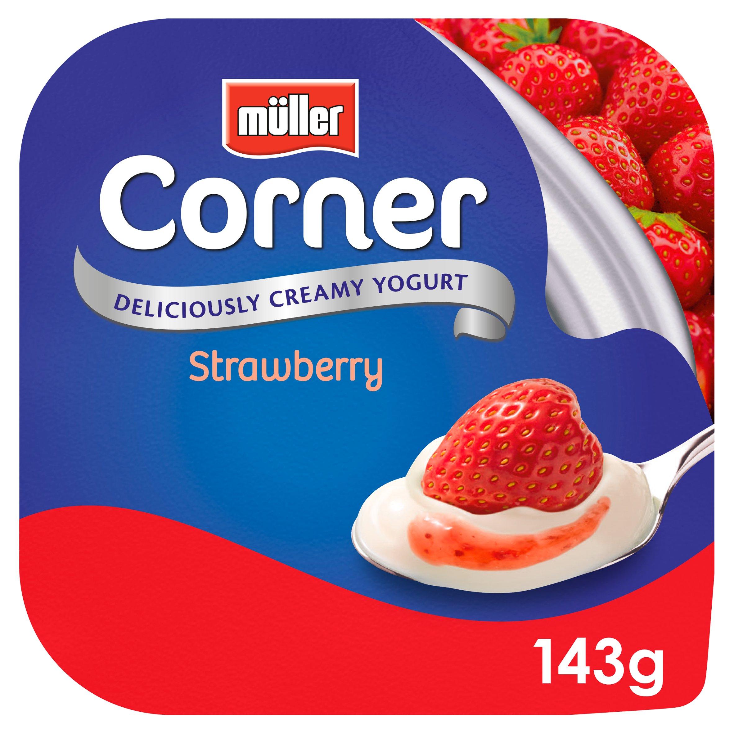 Muller Corner Strawberry Yogurt 143G