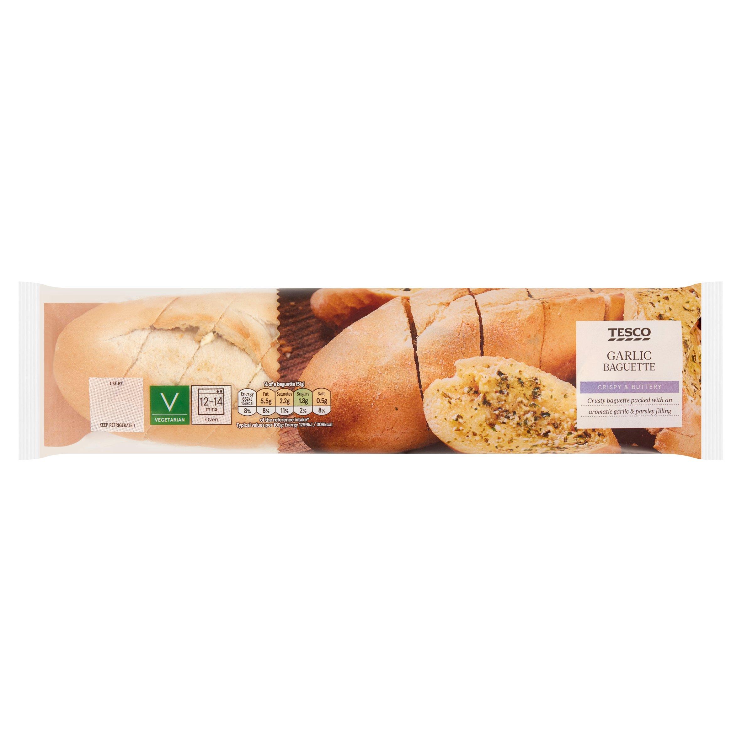 Tesco Garlic Baguette 205G