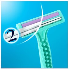 image 3 of Gillette Simply Venus 2 Blade Disposable Razors 4 Pack