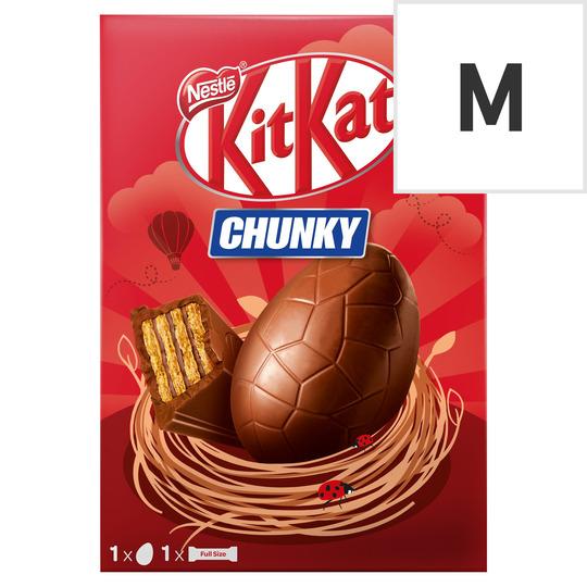 Kit Kat Chunky Milk Chocolate Egg 140G