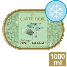 image 1 of Carte D'or Mint Chocolate Ice Cream 1 L