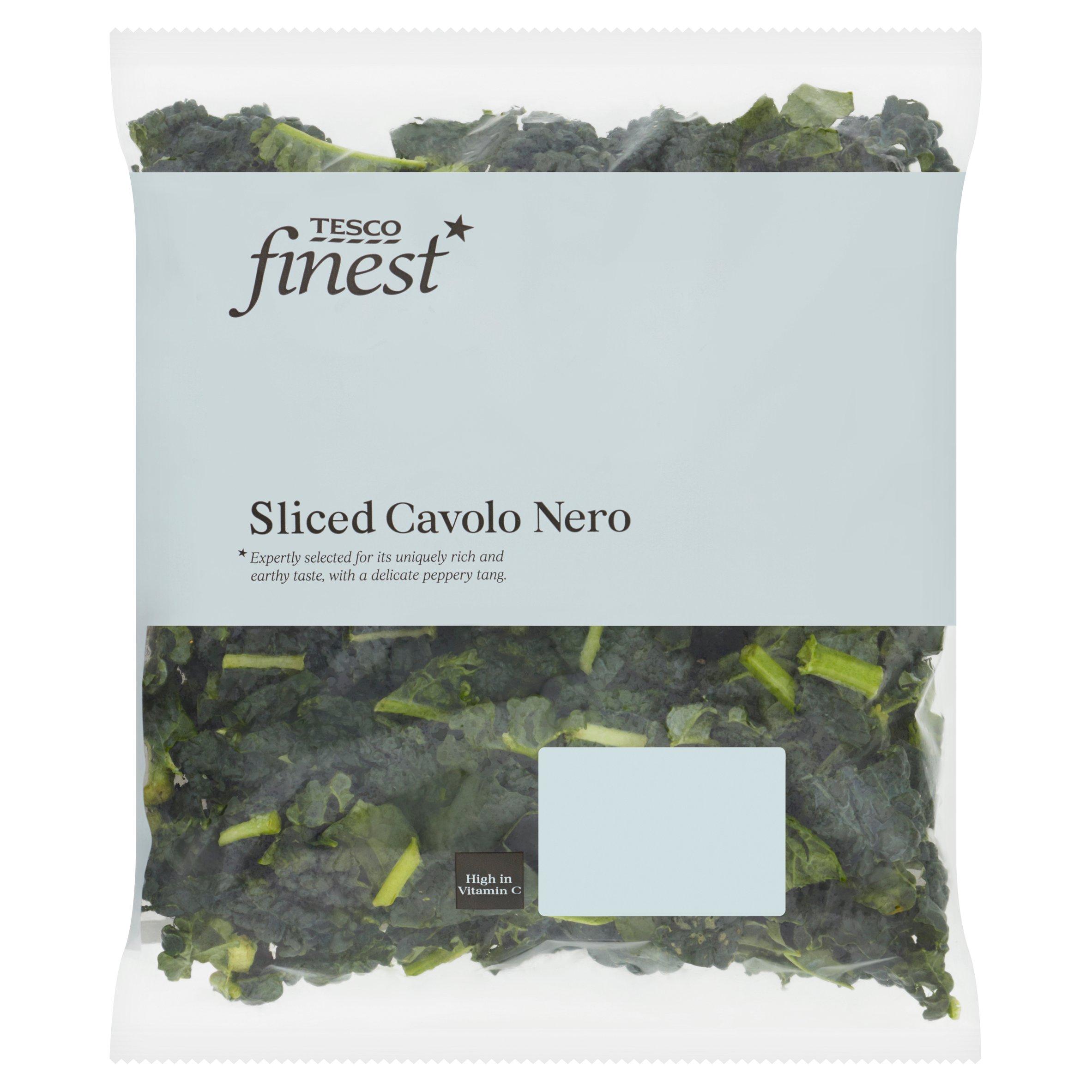 Tesco Finest Sliced Cavolo Nero 200G