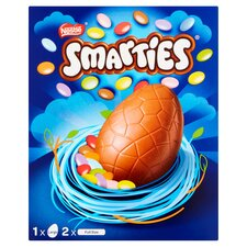 image 2 of Nestle Smarties Chocolate Egg 256G