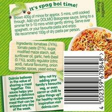 image 2 of Dolmio Bolognese Smooth Tomato Pasta Sauce 500G