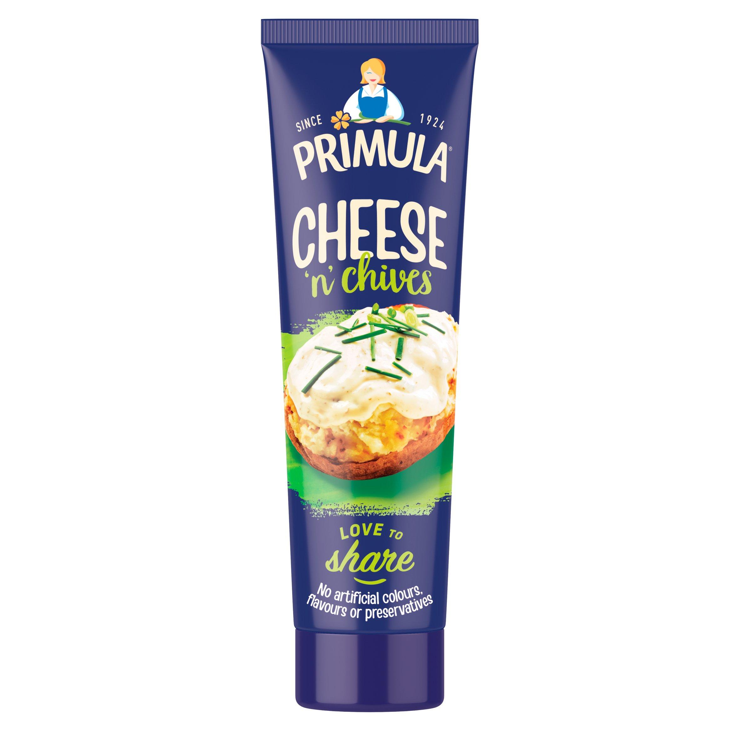 Primula Cheese Spread Plus Chives 150G Tube
