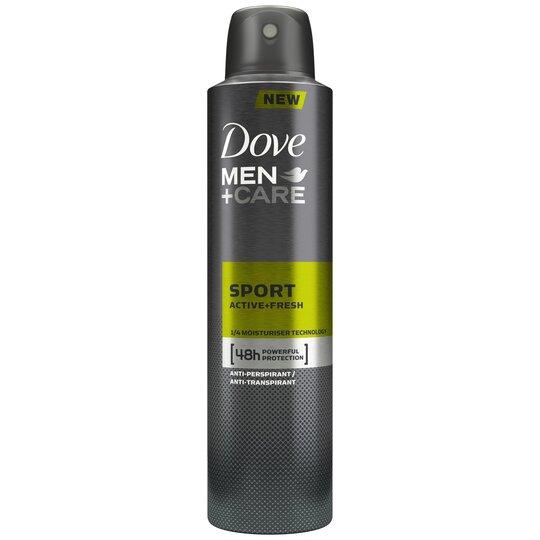 image 1 of Dove Men+Care Sport Active Fresh Antiperspirant Deodorant 250Ml
