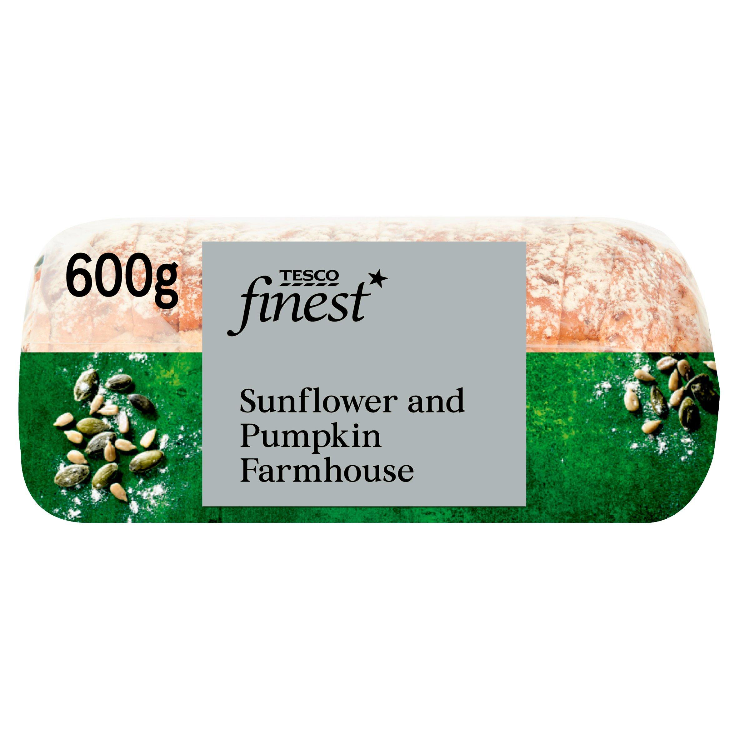 Tesco Finest Sunflower & Pumpkin Loaf 600G