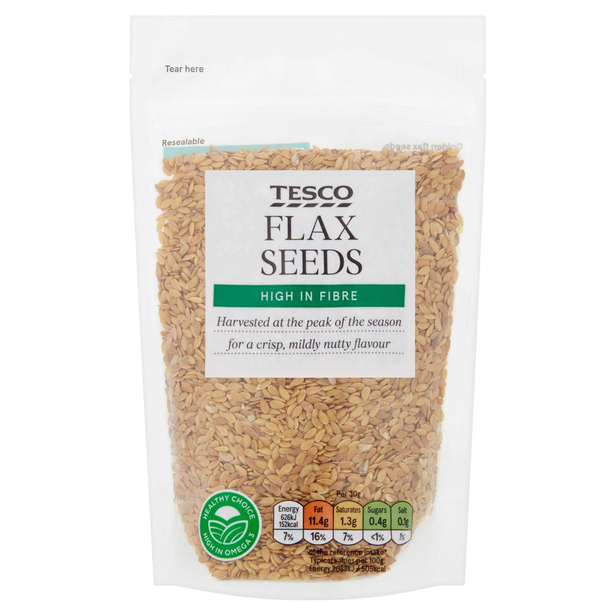 TESCO > Fresh Food > Tesco Flax Seeds 150G