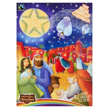image 2 of Real Advent Calendar Milk Chocolate 85G