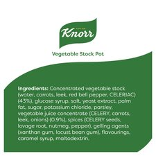 image 2 of Knorr Vegetable Stock Pot 8'S 224G