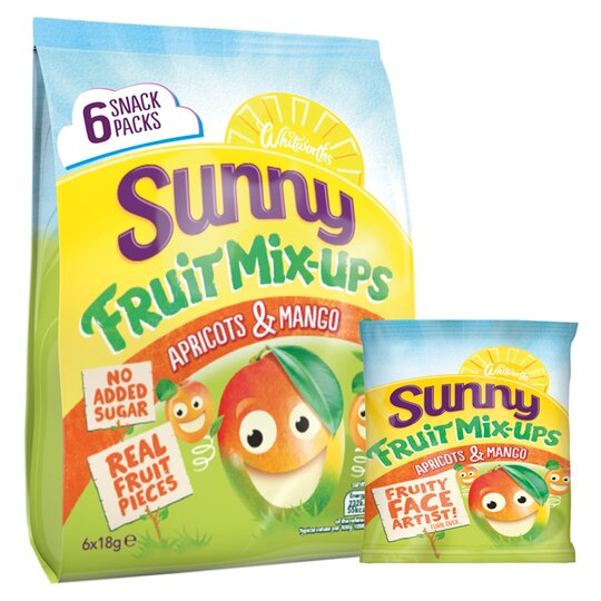 Sunny Apricot & Mango 6X18g