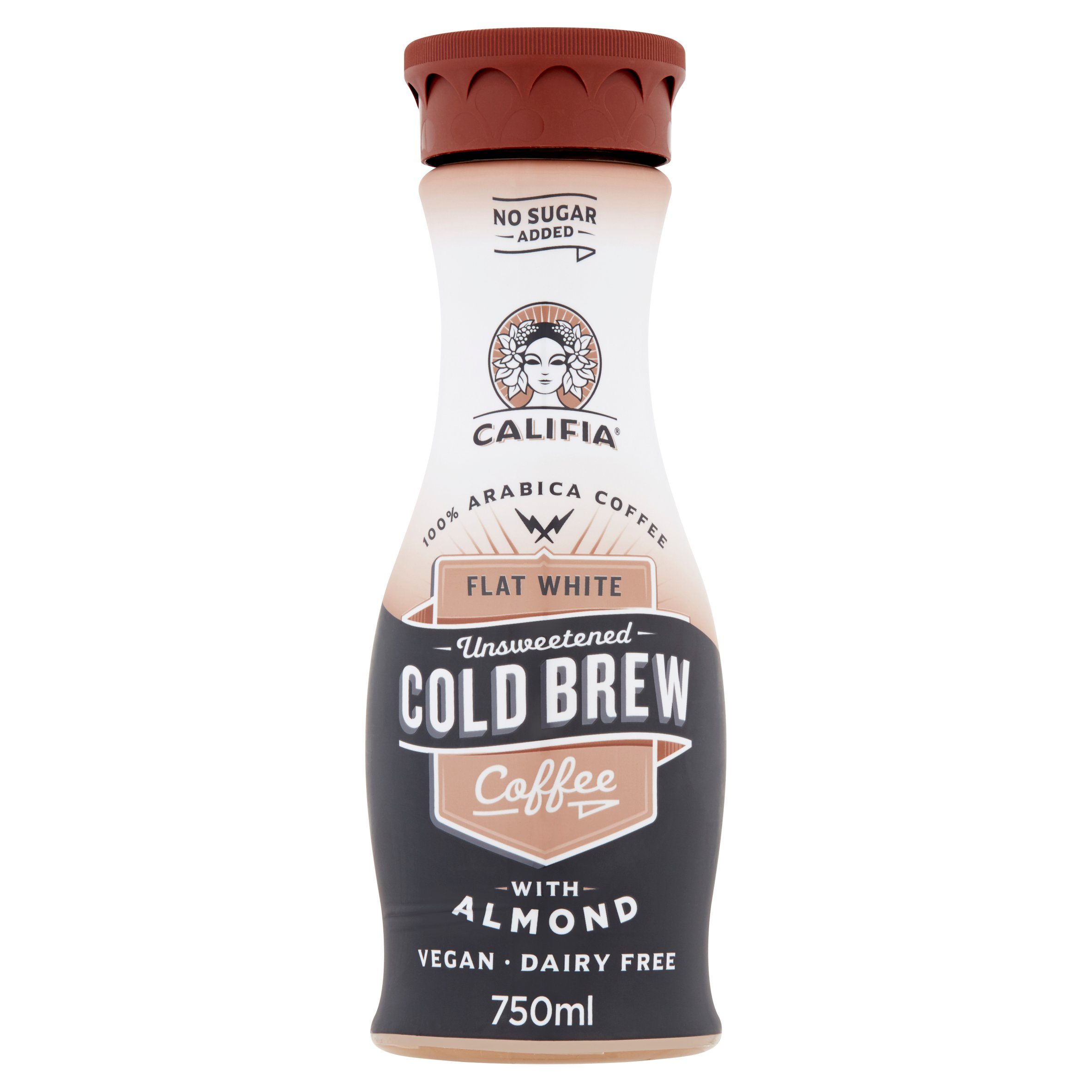 Califia Farm Black & White Cold Coffee With Almond 750Ml