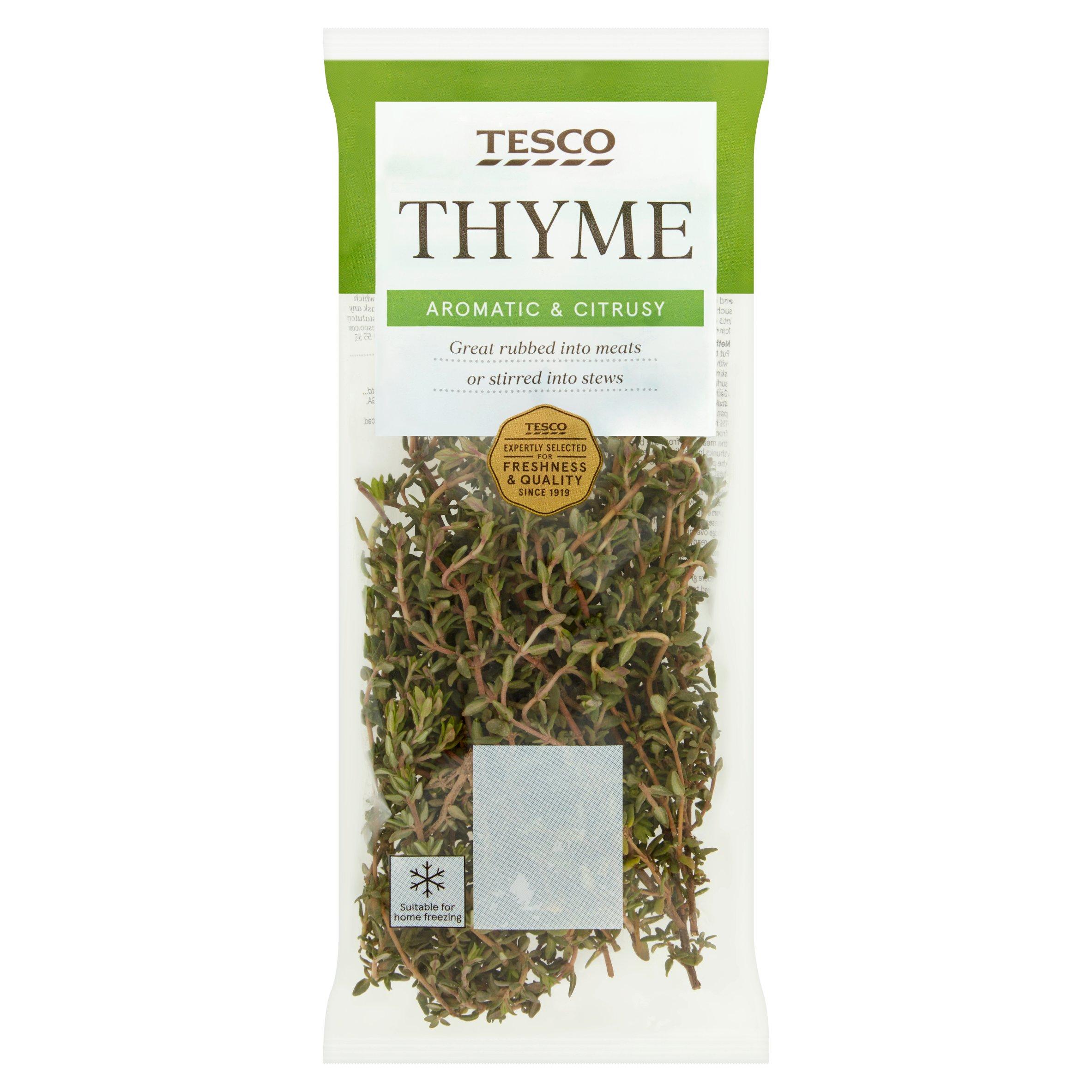 Tesco Thyme 20G