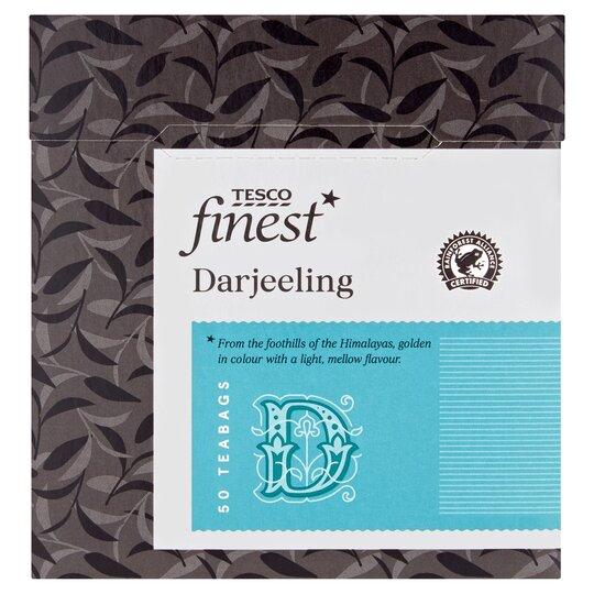 Tesco Finest Darjeeling Tea Bags 50'S 125G