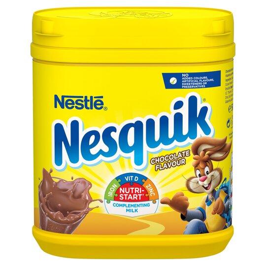 Nesquik Chocolate Powder 500G - Tesco