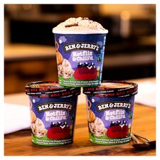 image 3 of Ben And Jerry's Netflix & Chilld Ice Cream 465Ml