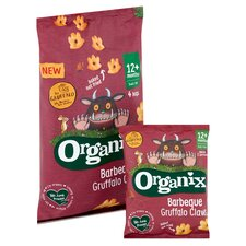 image 2 of Organix Barbeque Gruffalo Claws 4X15g