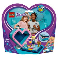 image 2 of LEGO Friends Stephanie's Heart Box Doll Playset 41356