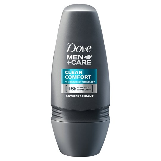 Dove Men+Care Clean Cmfrt Antiperspirant Deodorant Roll-On 50Ml