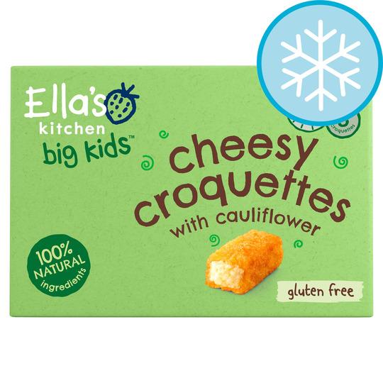 Ella's Kitchen Big Kids Cheesy Croquettes 200G