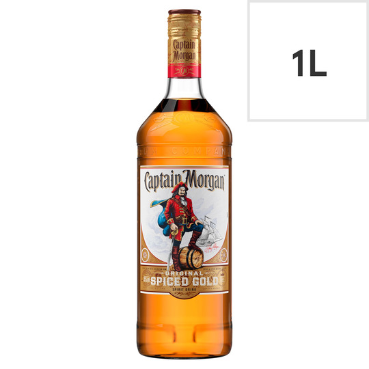 Captain Morgan Original Spiced Gold 1 Litre