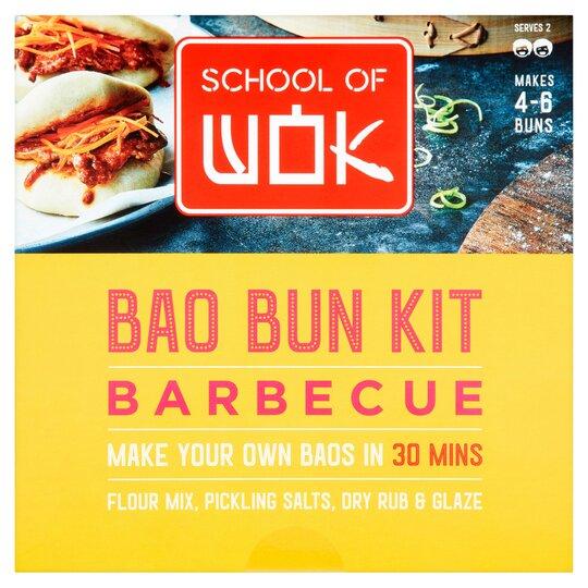 School Of Wok Bao Bun Kit Bbq 321G