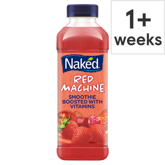 Naked Red Machine Strawberry Smoothie 450ml from Ocado