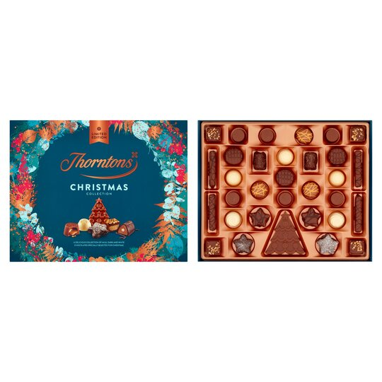 image 1 of Thorntons Christmas Chocolate Collection Box 380G