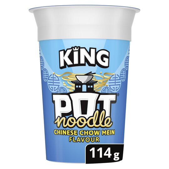 image 1 of Pot Noodle King Chinese Chow Mein Snack 114G