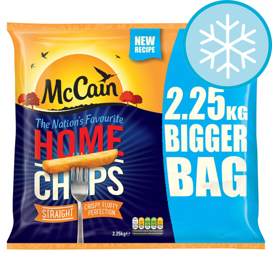 Mccain Home Chips 2.25Kg