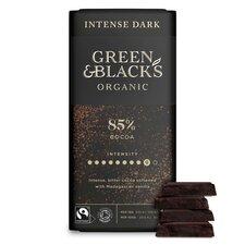 image 2 of Green & Blacks Organic Dark 85% Chocolate 90G