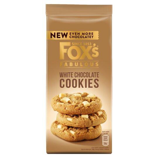 Fox's White Chocolate Cookies 180G