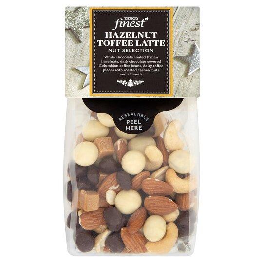 Tesco Finest Hazelnut Toffee Latte 225g Tesco Groceries