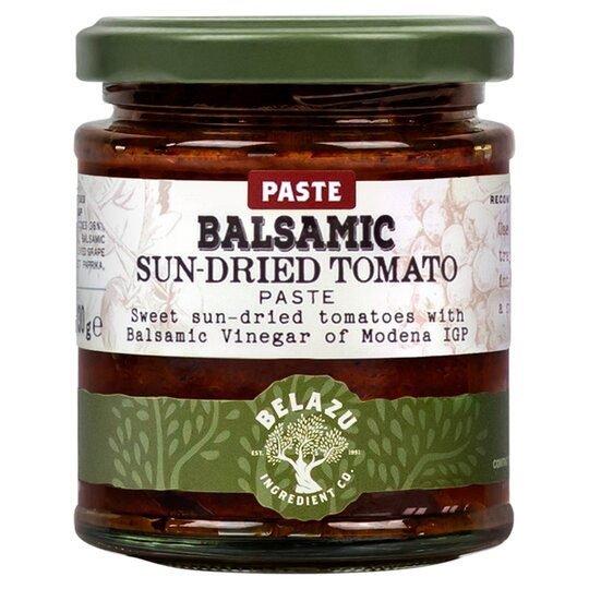 Belazu Balsamic Sun Dried Tomato Paste 130g Tesco Groceries