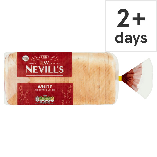 H W Nevill's White Bread 800G