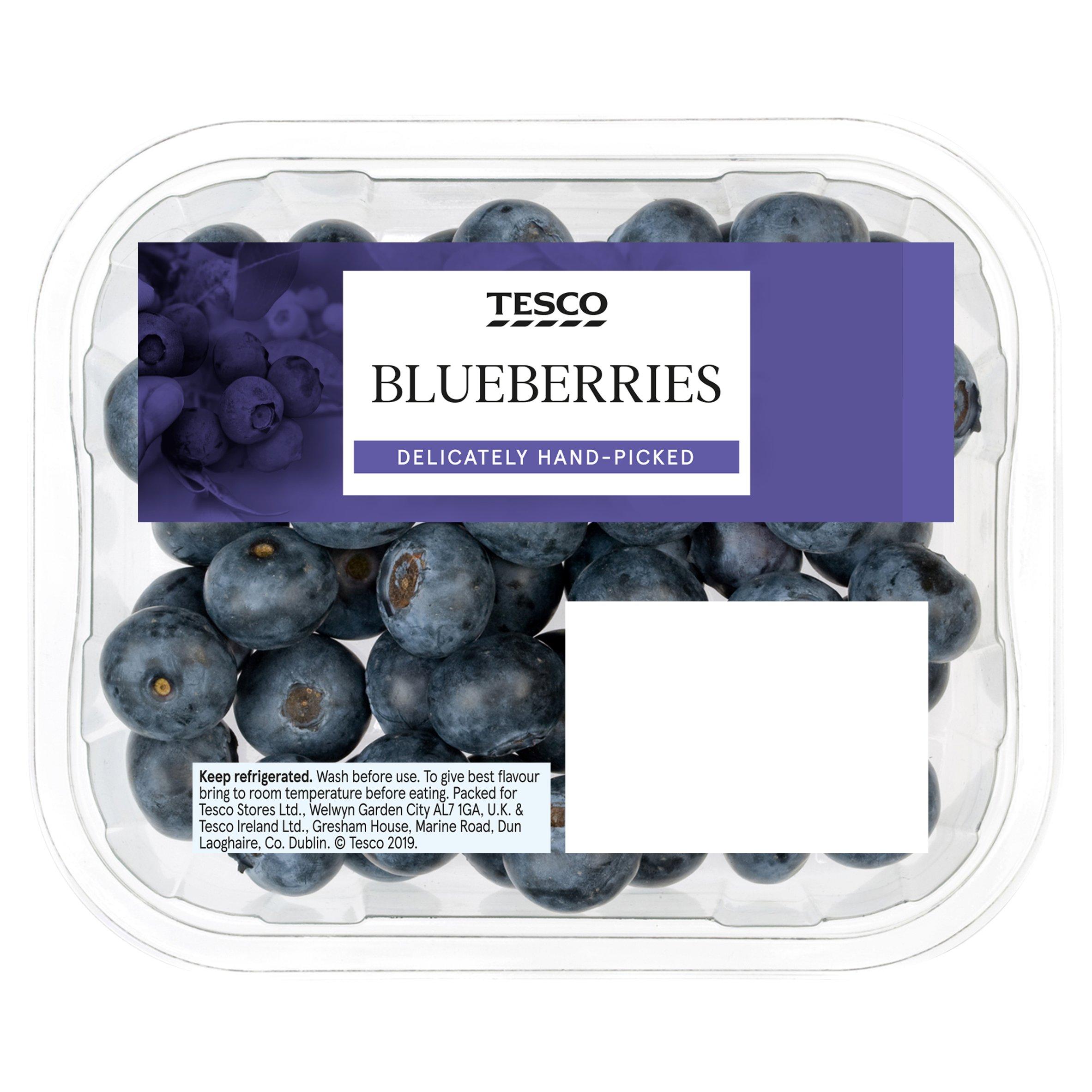 Tesco Blueberries 150G