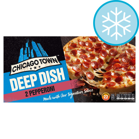 Chicago Town Deep Dish Pepperoni 320g