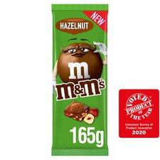 image 2 of M&M's Hazelnut Milk Chocolate Block 165G