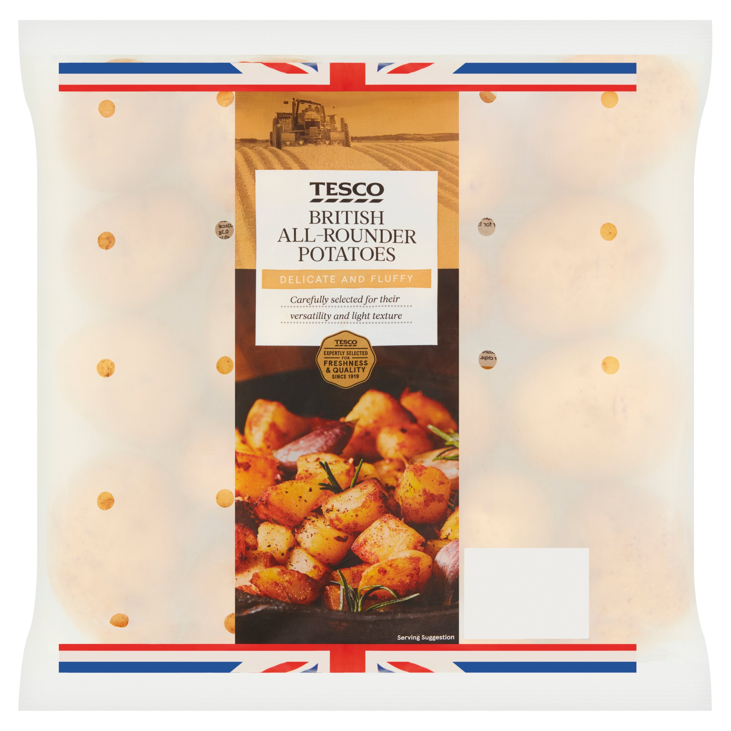Tesco All Rounder Potatoes 2.5Kg