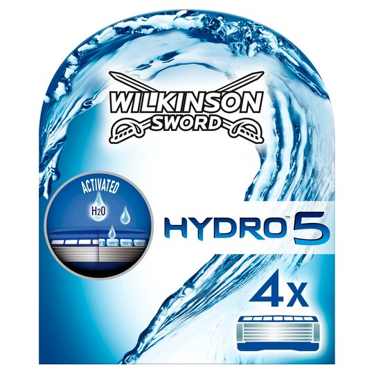 Wilkinson Sword Hydro 5 Razor Blades 4 Pack