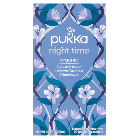 Pukka Organic Night Time 20 Tea Bags 20G